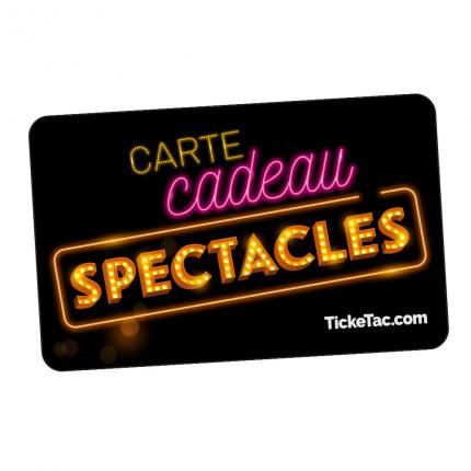 Carte Cadeau Spectacles Ticketac