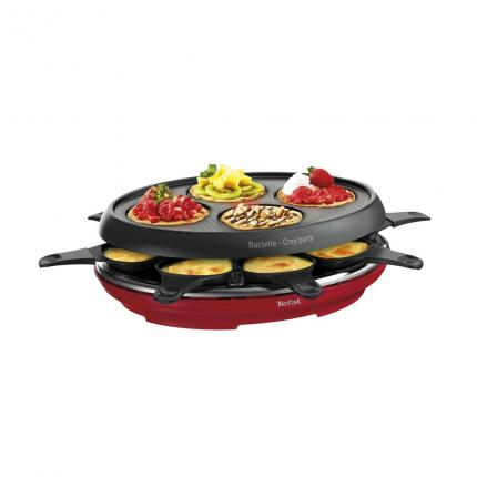 RACLETTE  8 CP COLORMANIA ROUGE